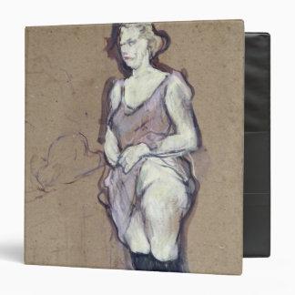 "La inspección médica: Prostituta rubia, 1894 Carpeta 1 1/2"""