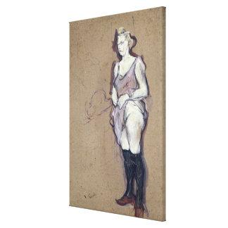 La inspección médica Prostituta rubia 1894 Lienzo Envuelto Para Galerias