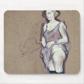 La inspección médica: Prostituta rubia, 1894 Tapetes De Raton