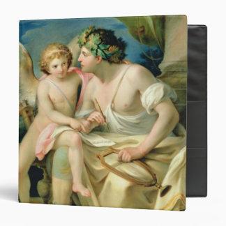 """La inspiración del poeta, 1785 carpeta 1 1/2"""""""