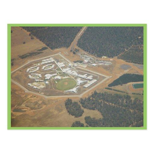 La instalación de la prisión al este de Perth en A Tarjetas Postales