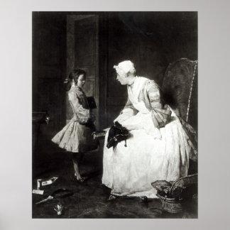 La institutriz, 1739 posters