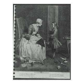 La institutriz, 1739 postal
