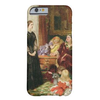 La institutriz, 1860 (aceite en lona) funda de iPhone 6 barely there