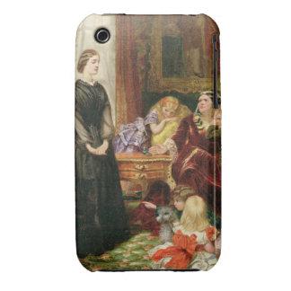 La institutriz, 1860 (aceite en lona) iPhone 3 protectores
