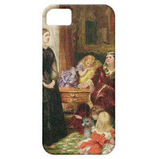 La institutriz, 1860 (aceite en lona) iPhone 5 carcasas