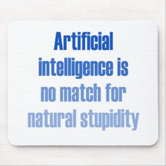 La inteligencia artificial no es ningún partido… alfombrillas de ratones