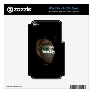 La interferencia Caterpillar enmascara iPod Touch 4G Calcomanía