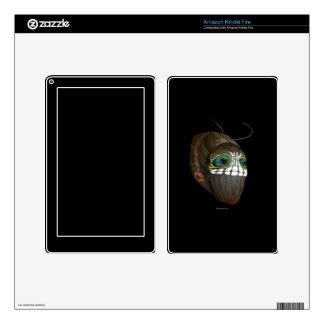 La interferencia Caterpillar enmascara Pegatina Skin Para Kindle Fire