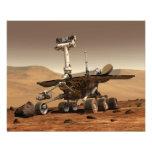 La interpretación del artista de Marte Rover Fotografia