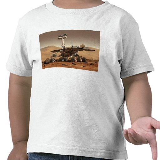 La interpretación del artista de Marte Rover Camisetas