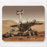La interpretación del artista de Marte Rover Tapetes De Raton