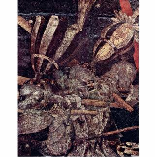 La intervención de Micheletto como detalle de Coti Esculturas Fotográficas