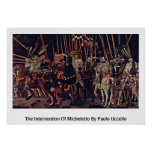 La intervención de Micheletto de Paolo Uccello Impresiones