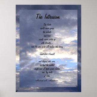 La intrusión póster