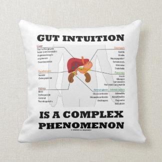 La intuición de la tripa es una endocrina compleja cojín