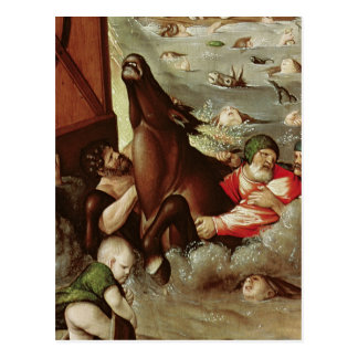 La inundación, 1516 postal