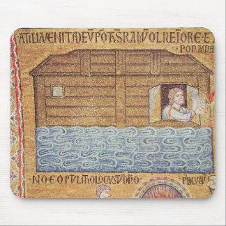 La inundación, del atrio, detalle de Noah Tapete De Ratones