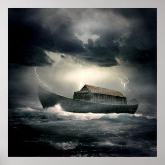 La inundación póster