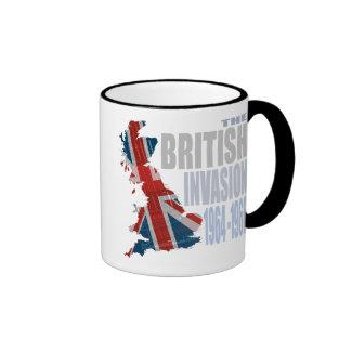La invasión británica 1964-1966 taza