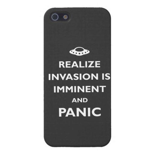 La invasión es inminente iPhone 5 cárcasas