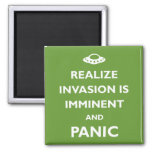La invasión es inminente imán de nevera