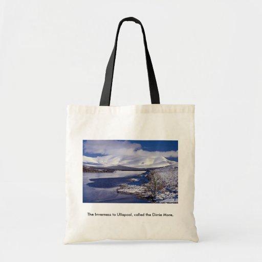 La Inverness a Ullapool, llamado el Dirrie más, Bolsa Tela Barata