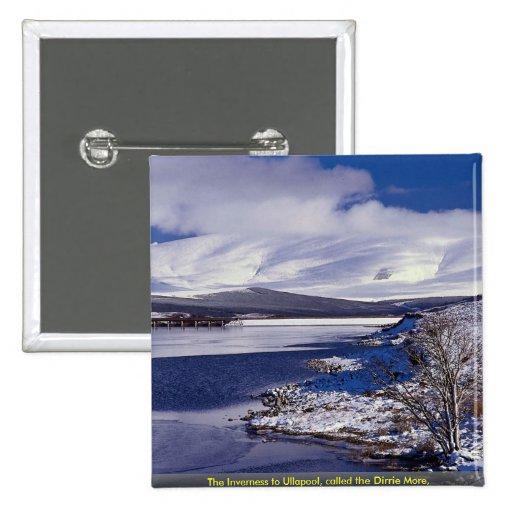 La Inverness a Ullapool, llamado el Dirrie más, Pin