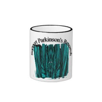 La investigación de Parkinson de la ayuda, taza