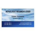 La investigación del nephology de la nube del mete tarjetas de visita