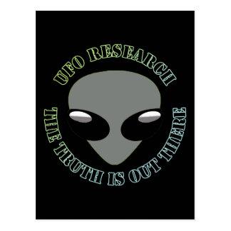 La investigación del UFO, la verdad está hacia Postal