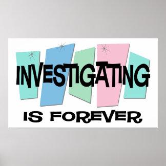 La investigación es Forever Poster