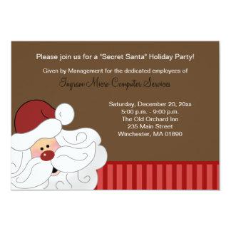 La invitación 2 de Papá Noel echó a un lado