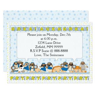 """La invitación 7"""" del fiesta de la tarjeta de"""