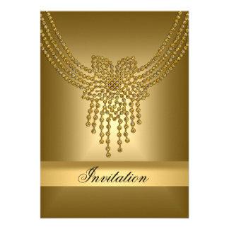 La invitación cualquiera del oro va de fiesta el o