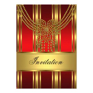 La invitación cualquiera va de fiesta el oro y el