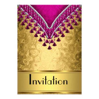 La invitación cualquiera va de fiesta el oro y la