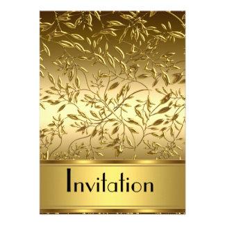 La invitación cualquiera va de fiesta el oro y las