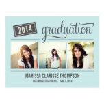 La invitación de graduación de la graduación del a postal