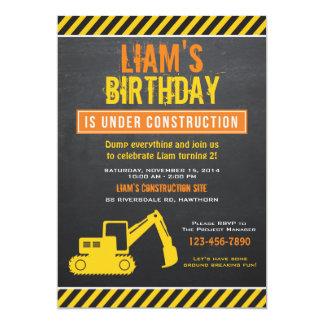 La invitación de la construcción/la construcción