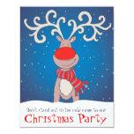 La invitación de la fiesta de Navidad de los niños