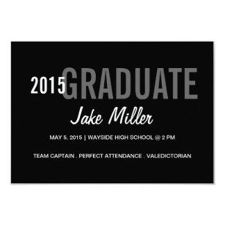 La invitación de la graduación/invita al | año