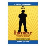 La invitación de la película del cumpleaños (mucha