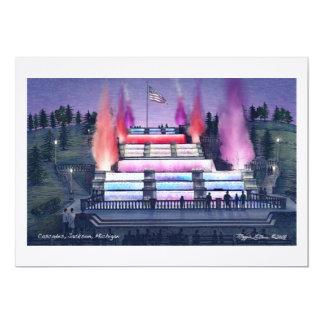 La invitación de lino 90# conecta en cascada