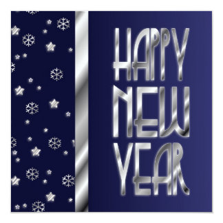 La invitación del Año Nuevo de las estrellas y de