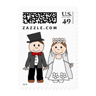 la invitación del boda, ahorra la fecha estampillas