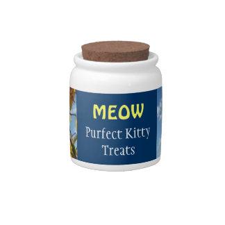 La invitación del gatito de Purfect del MAULLIDO s Platos Para Caramelos