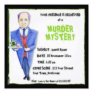 La invitación del misterioso asesinato del