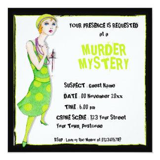 La invitación del misterioso asesinato del Ingenue