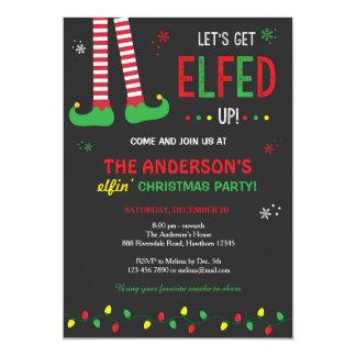 La invitación del navidad/nos dejó conseguir Elfed
